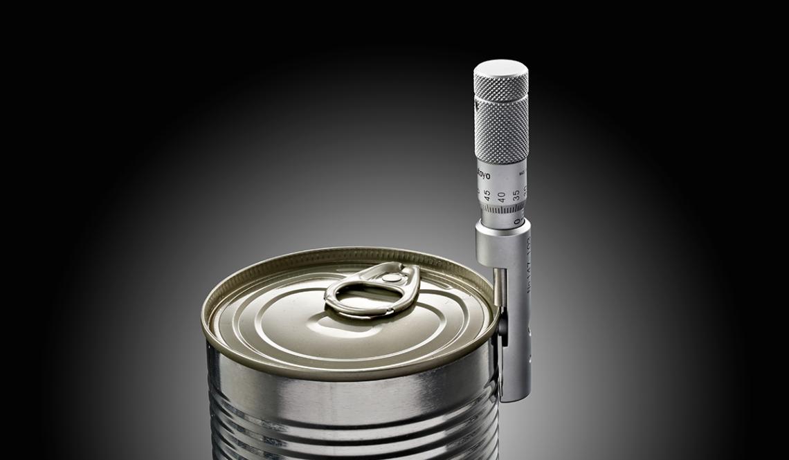 Micrometro per misurazione aggraffatura