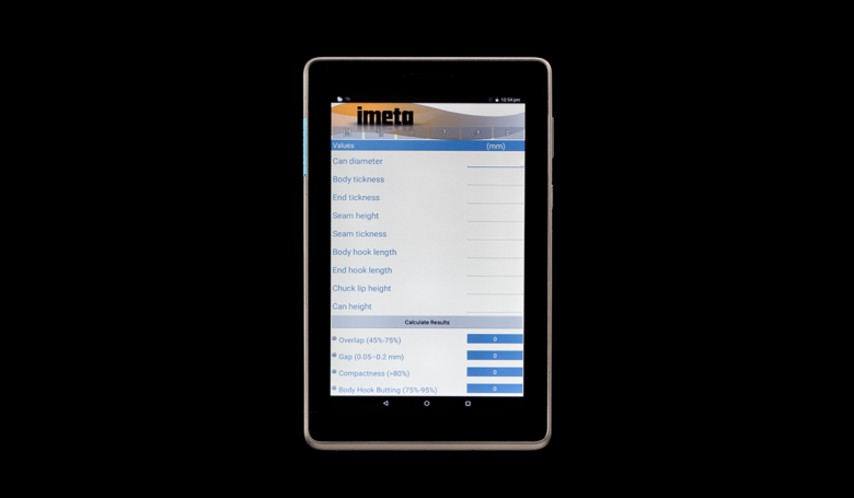 Tablet for Seaming Inspection